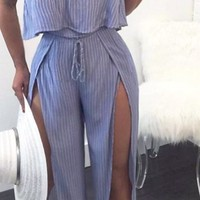 Jumpsuit split Ruffles