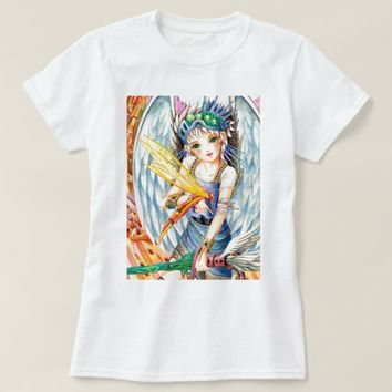Girl Swordsman T-Shirt