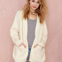Long Sleeve Pockets Cardigan