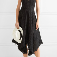 LoveShackFancy - Melody pointelle-trimmed broderie anglaise cotton dress