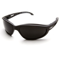 Edge Eyewear Dakura Polarized Black Frame Smoke Lens