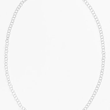 Women's Argento Vivo Link Necklace