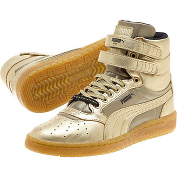Sky II Metallic Hi Women's Sneakers, buy it @ www.puma.com
