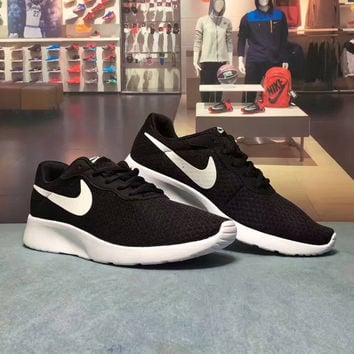 """""""NIKE TANJUN"""" Fashion Casual Net Surface Breathable Unisex Sneakers Couple Running Shoes"""