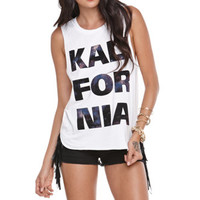Kendall & Kylie Muscle Tunic Tank at PacSun.com