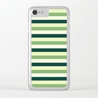 oak leaves. cubistic. Clear iPhone Case by Ia Po