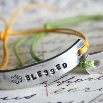 Bracelets Custom Hand Stamped Name Friendship BFF by AlwaysAMemory