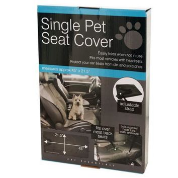 Single Pet Auto Seat Cover ( Case of 16 )