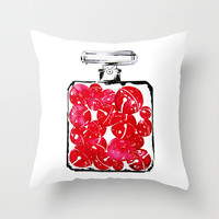 Christmas Bells Throw Pillow by Koma Art