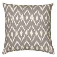 """Printed Gray Pillow Cover (18"""" x 18"""")"""