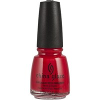 China Glaze Nail Polish, Italian Red, 0.5 Fluid Ounce