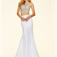 Two Piece Paparazzi Prom Dress 98113