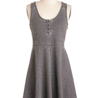 ModCloth Minimal Mid-length Sleeveless A-line Calm and Com-flirt-able Dress