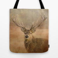 Autumn Stag Tote Bag by Linsey Williams