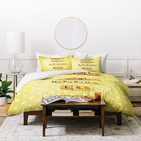 Happee Monkee All You Need Is Love 1 Duvet Cover