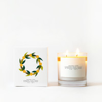 Christmas Cheer Candle with Graphic Box