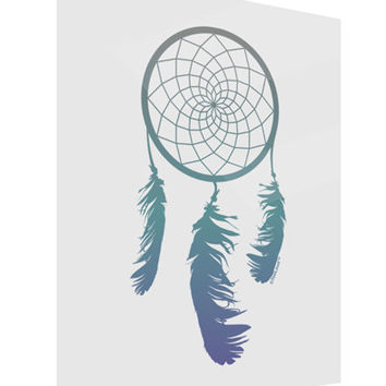 Mystic Dreamcatcher Gloss Poster Print Portrait - Choose Size