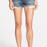 Women's Genetic 'Zoe' High Rise Cutoff Shorts ,