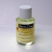 Beauty Drops VITAMIN E BEAUTY OIL 2800 IU 1oz
