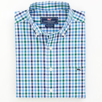 Hoyt Gingham Tucker Shirt