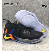 NIKE PG2 Pickled Pepper Paul George Basketball Shoes Casual Running Shoes F-AHXF #9