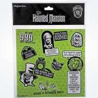 Disney Parks Haunted Mansion Conversation Characters Magnet Set New Sealed