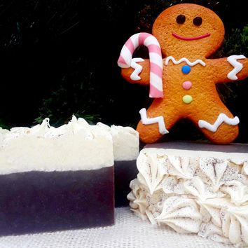 Gingerbread Man Handmade Soap