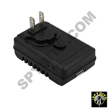 Functional Phone Charger Spy Camera - Side View Rapid Charger Spy Cam