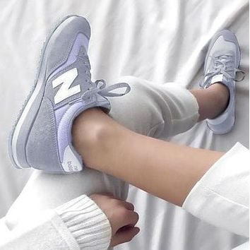 New Balance Casual running shoes Sports shoes Z-Letters Classic Sneakers Grey