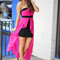 Back To The Future Dress: Pink | Hope's