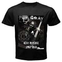 paul gray black T-shirt Size S, M, L, XL, 2XL, 3XL, 4XL, and 5XL