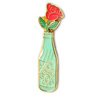 Rose Cola Bottle Pin