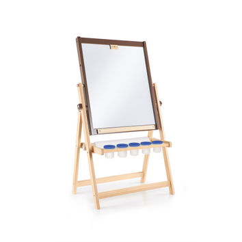 Guidecraft 4-in-1 Flipping Floor Easel - G51110