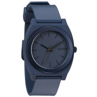 Nixon A1191309 Men's The Time Teller P Steel Blue Ano Plastic Strap Watch