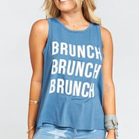 The Secret Life Tank ~ Brunch Brunch Brunch Graphic