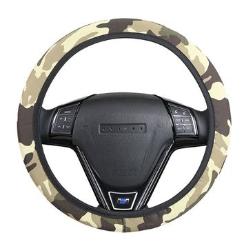 Military style Car Steering Wheel Cover/Universal braid on the steering wheel of car Four Seasons General O SHI CAR