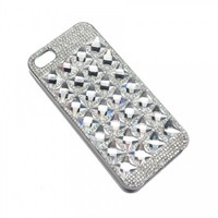 Square Deco Luxe Crystal iPhone 5 Case - t+j Designs