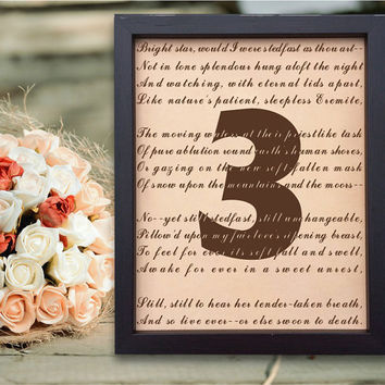 Lik76 Leather Engraved Wedding Third Anniversary three years personalized gift love poem