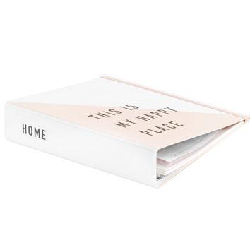 HOME ORGANISER: QUOTE