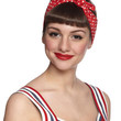 Rockabilly Through the Wire Headband in Red by ModCloth
