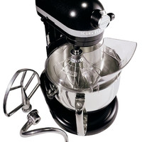 Kitchenaid 6 Qt. Professional 600 Series with Pouring Shield - Licorice KP26M1XLC