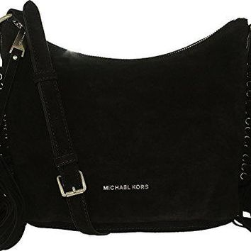 Michael Kors Women's Medium Billy Suede Messenger Bag Leather Cross Body Tote Michael Kors bag
