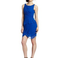Vince Camuto Women's Tiered Dress, Electric, 6