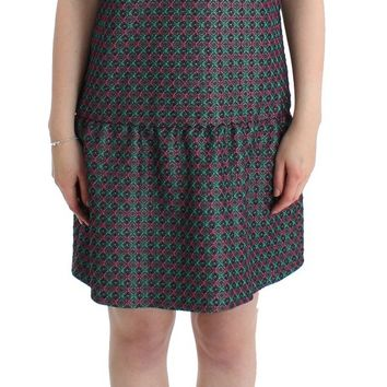 Multicolor Audrey short sleeve dress