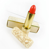 Vintage Red Velvet Lipstick / 60s Avon Lipstick / Avon Deluxe Red Lipstick with original box - Rouge à Lèvres Compact.