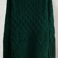 Dark Green Sweater