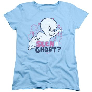 Casper - Seen A Ghost Short Sleeve Women's Tee