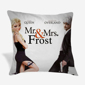 Mr Frost And Mrs Frost Pillow Case
