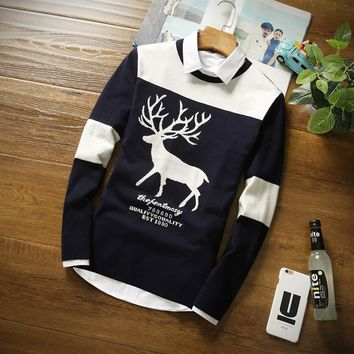 Men's Deer Holiday Sweater
