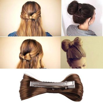 Fashion  7 Colors 1PC Women Girls Big Bow Ties Wig Hairpin Headwear Hair Bow Clips Hair Accessories